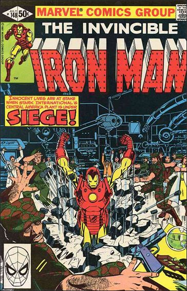 Iron Man (1968) 148-A by Marvel