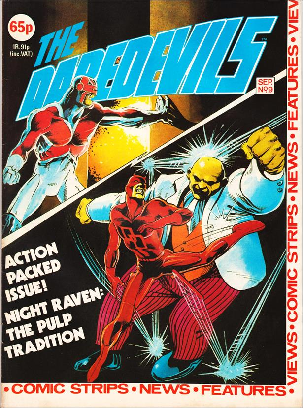 Daredevils (UK) 9-A by Marvel UK