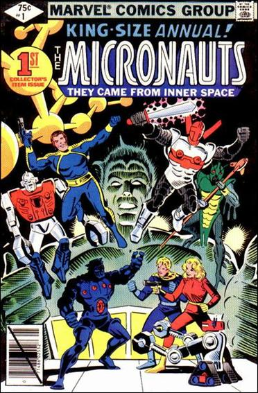 Micronauts Annual 1-A by Marvel