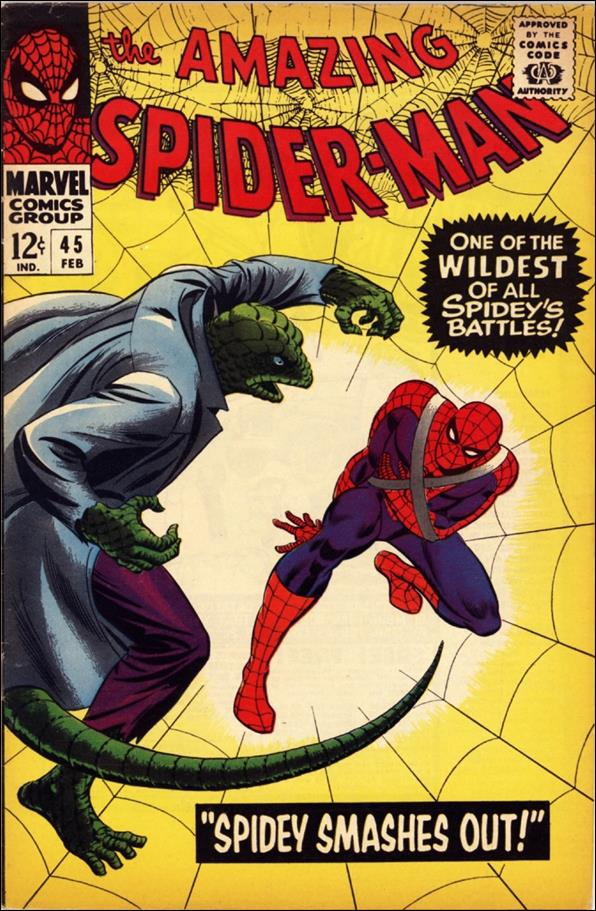 Amazing Spider-Man (1963) 45-A by Marvel