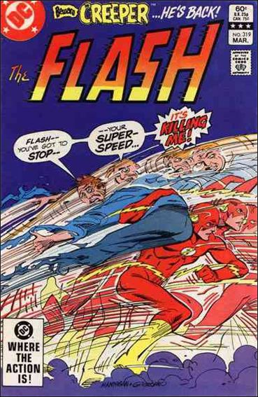 Flash (1959) 319-A by DC