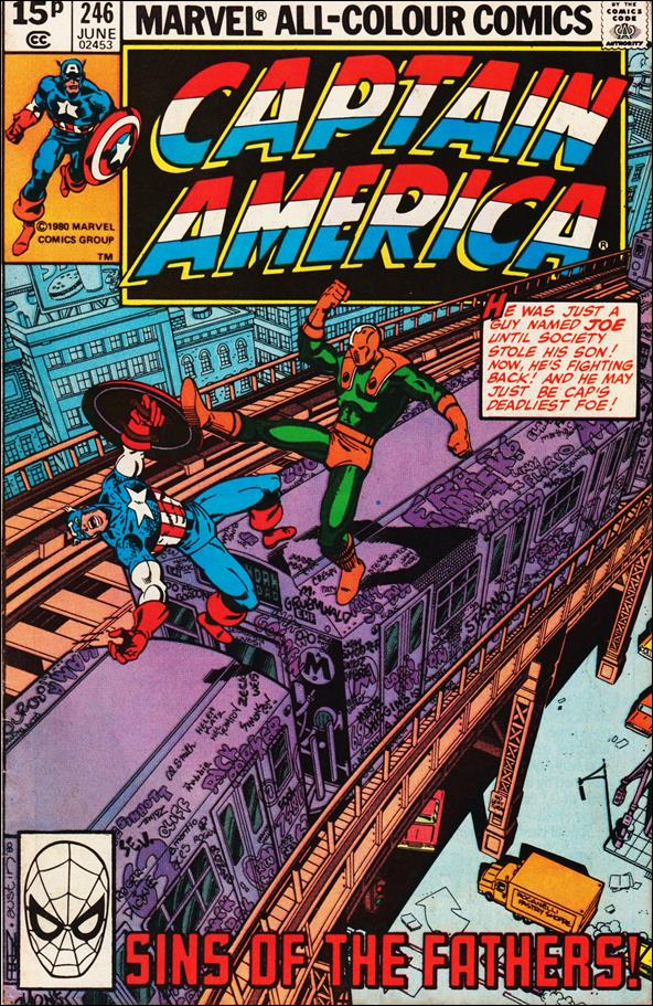 Captain America (1968) 246-B by Marvel