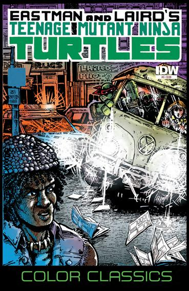 Teenage Mutant Ninja Turtles Color Classics  3-A by IDW