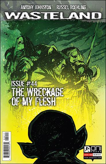 Wasteland (2006) 44-A by Oni Press