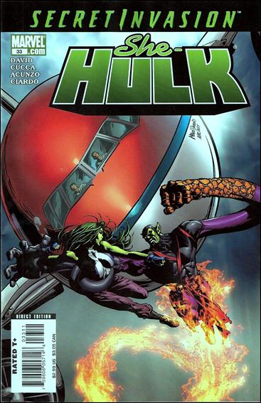 She-Hulk (2005) 33-A by Marvel