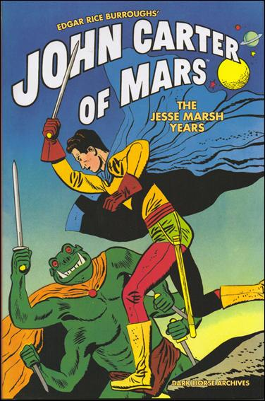 Edgar Rice Burroughs' John Carter of Mars: The Jesse Marsh Years 1-A by Dark Horse