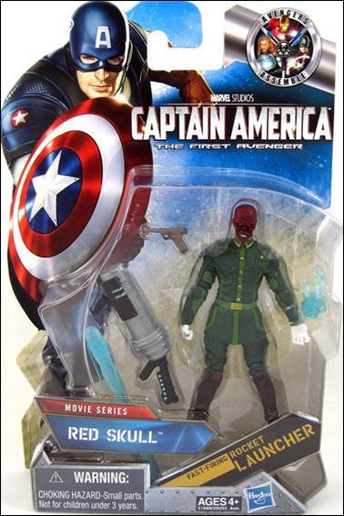 Captain America The First Avenger Red Skull With White
