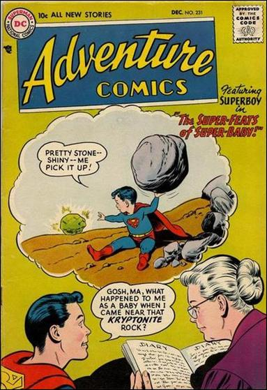 Adventure Comics (1938) 231-A by DC