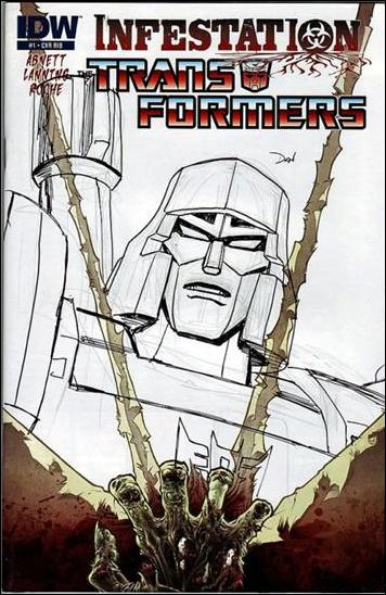 Transformers: Infestation 1-D by IDW