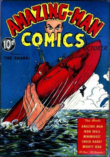 Amazing Man Comics 6-A by Centaur Publications Inc.