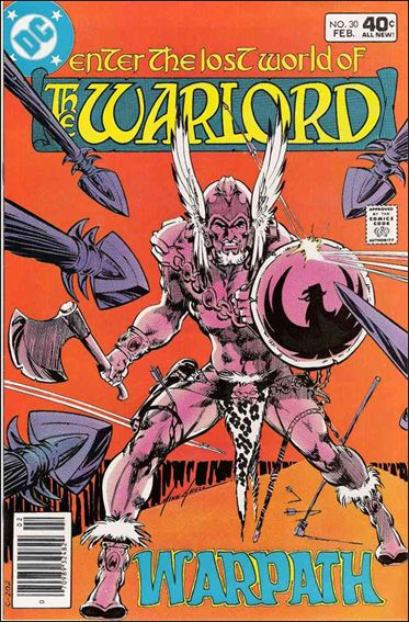 Warlord (1976) 30-A by DC