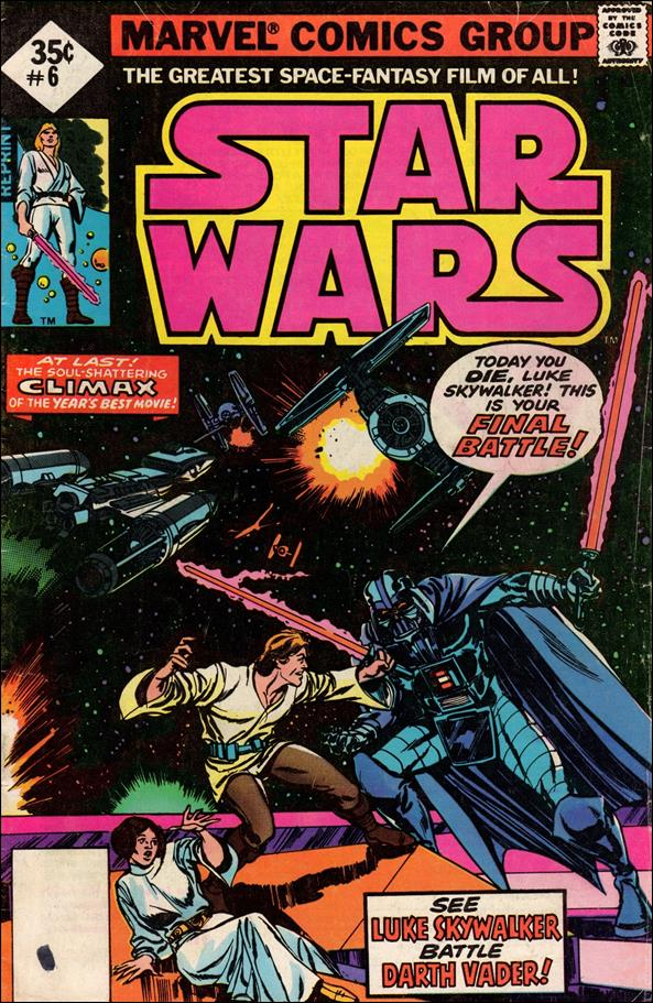 Star Wars (1977) 6-D by Marvel