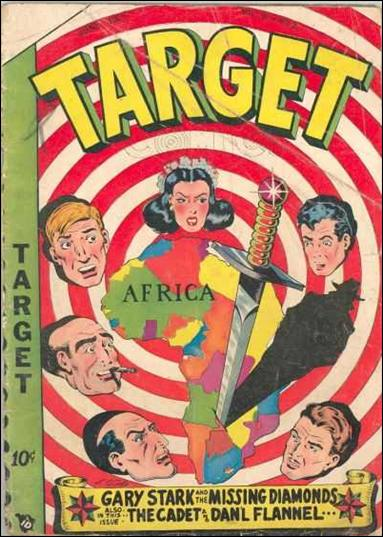 Target Comics (1949) 2-A by Premium