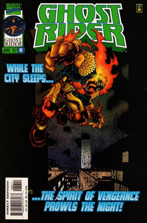 Ghost Rider (1990) 86-A by Marvel