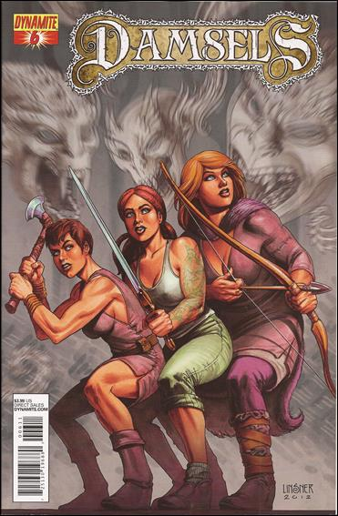 Damsels 6-A by Dynamite Entertainment