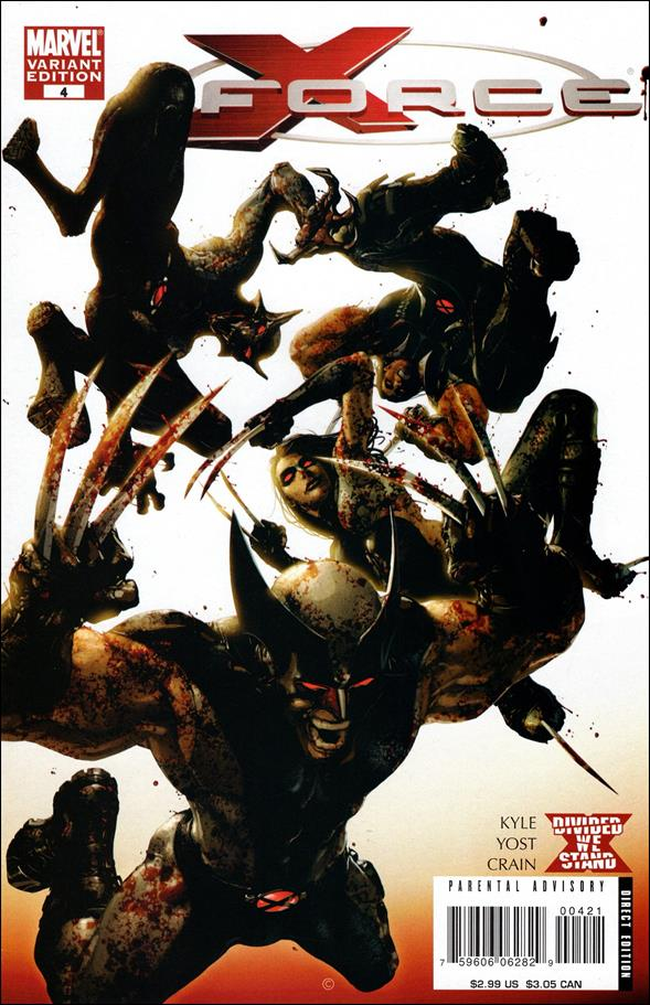 X-Force (2008) 4-B by Marvel