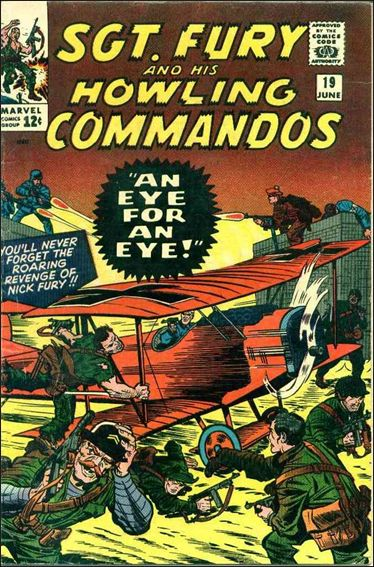 Sgt. Fury and His Howling Commandos 19-A by Marvel