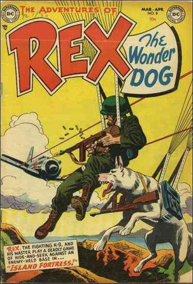 Adventures of Rex the Wonder Dog 8-A by DC