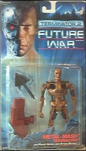Terminator 2: Future War  Metal-Mash Terminator by Kenner