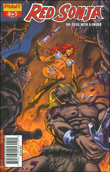 Red Sonja (2005) 15-D by Dynamite Entertainment