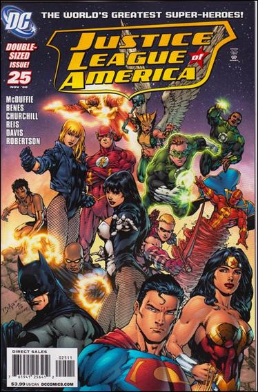 Justice League of America (2006) 25-A by DC