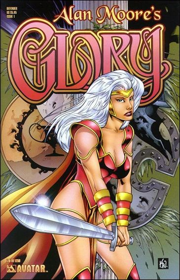 Alan Moore's Glory 1-J by Avatar Press