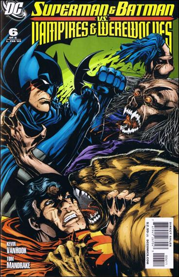 Superman and Batman vs Vampires and Werewolves 6-A by DC