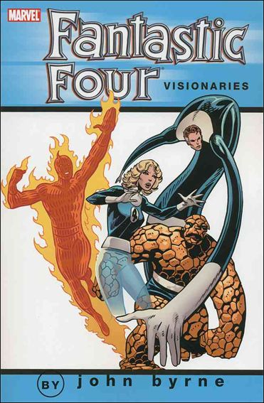 Fantastic Four Visionaries: John Byrne 3-A by Marvel