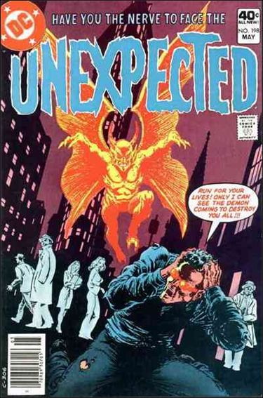 Unexpected (1968) 198-A by DC