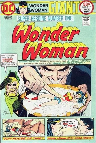 Wonder Woman (1942) 217-A by DC