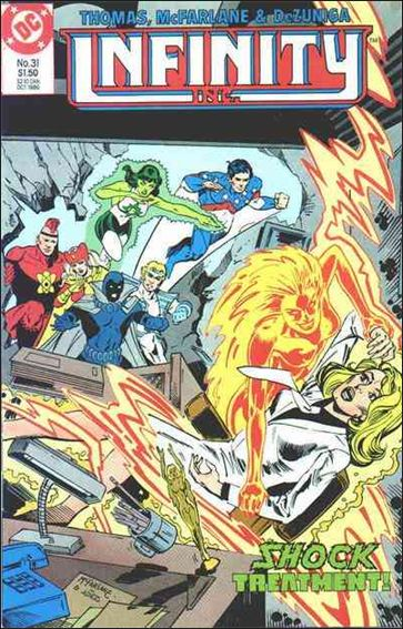 Infinity Inc. (1984) 31-A by DC
