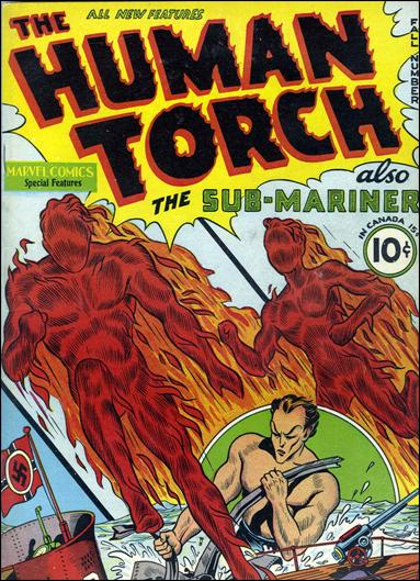 Human Torch (1940) 2-A by Timely