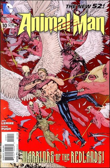 Animal Man (2011) 10-A by DC