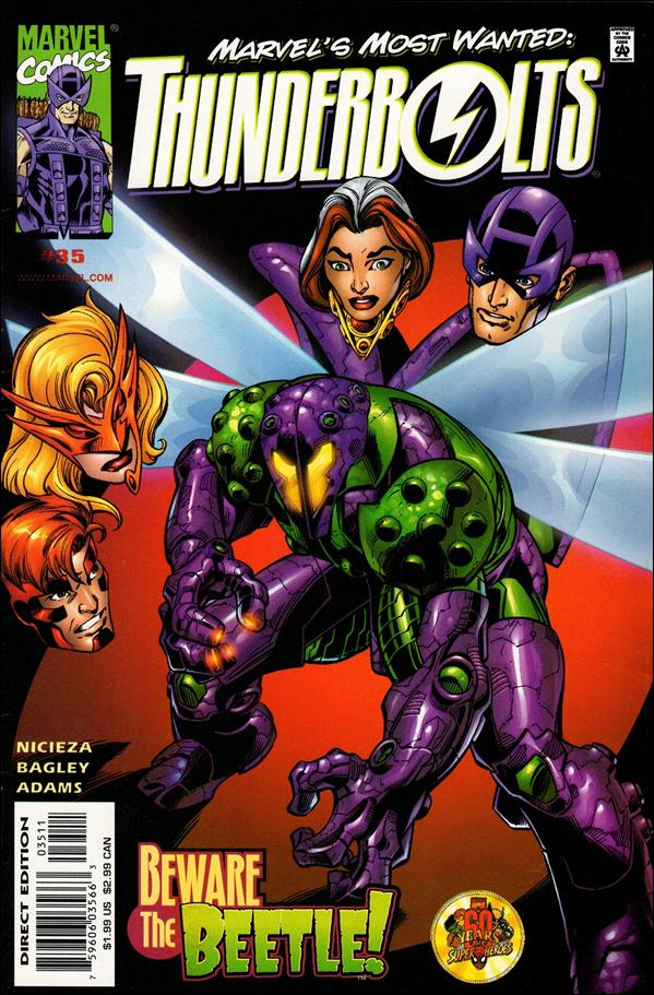 Thunderbolts (1997) 35-A by Marvel