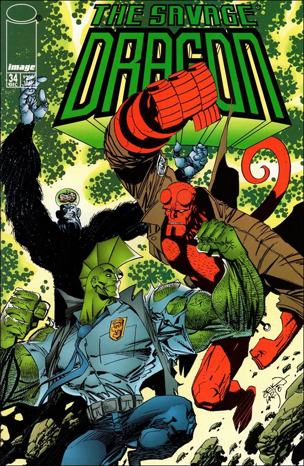 Savage Dragon (1993) 34-A by Image