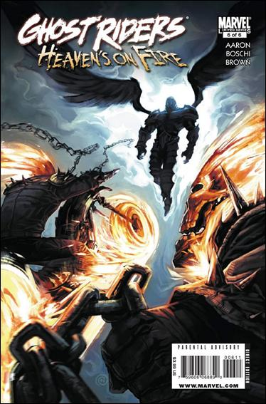 Ghost Riders: Heaven's On Fire 6-A by Marvel