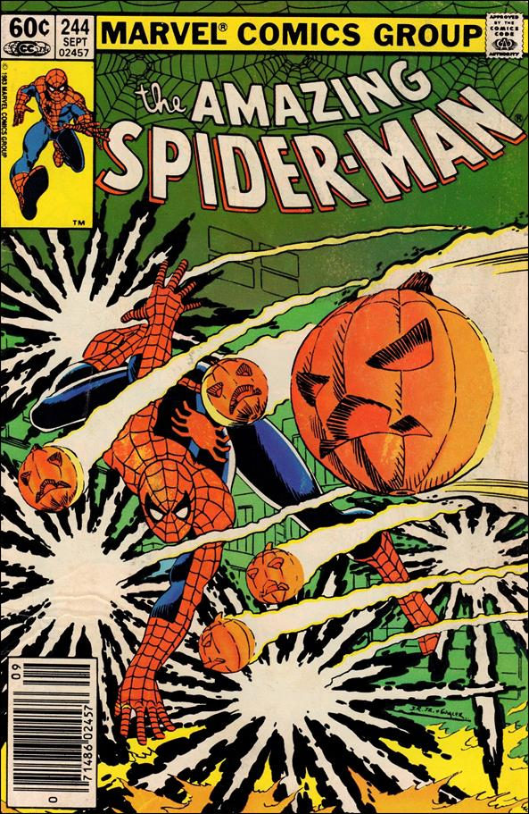 Amazing Spider-Man (1963) 244-A by Marvel