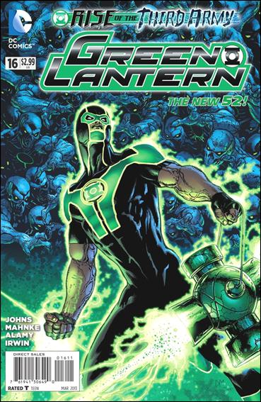 Green Lantern (2011) 16-A by DC