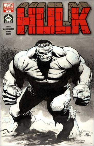 Hulk 100 (Hero Initiative) Cover Project 9-A by Marvel
