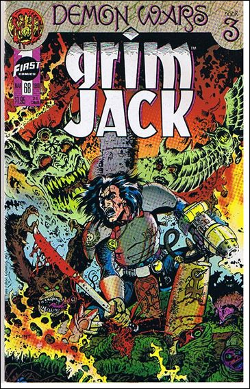 Grimjack 68-A by First