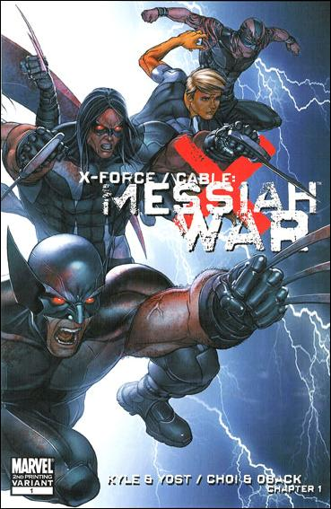 X-Force/Cable: Messiah War 1-D by Marvel