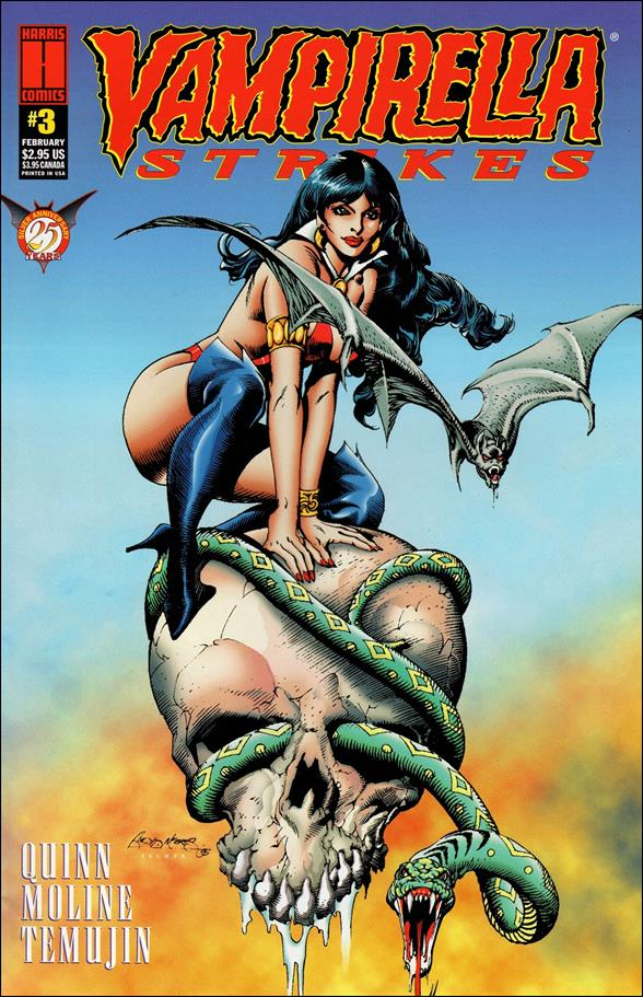 Vampirella Strikes (1995) 3-A by Harris
