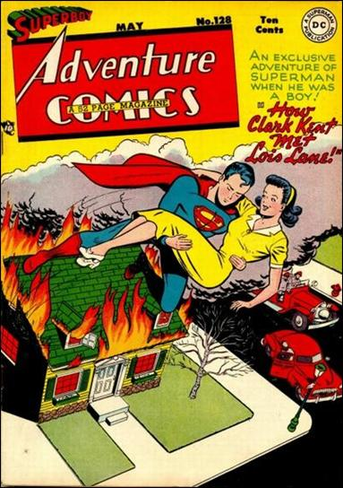 Adventure Comics (1938) 128-A by DC