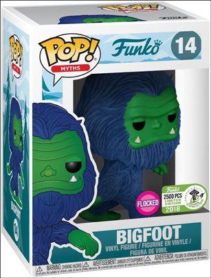 POP! Myth Bigfoot (Flocked) (Blue) ECCC 2018