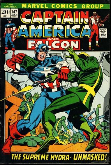 Captain America (1968) 147-A by Marvel