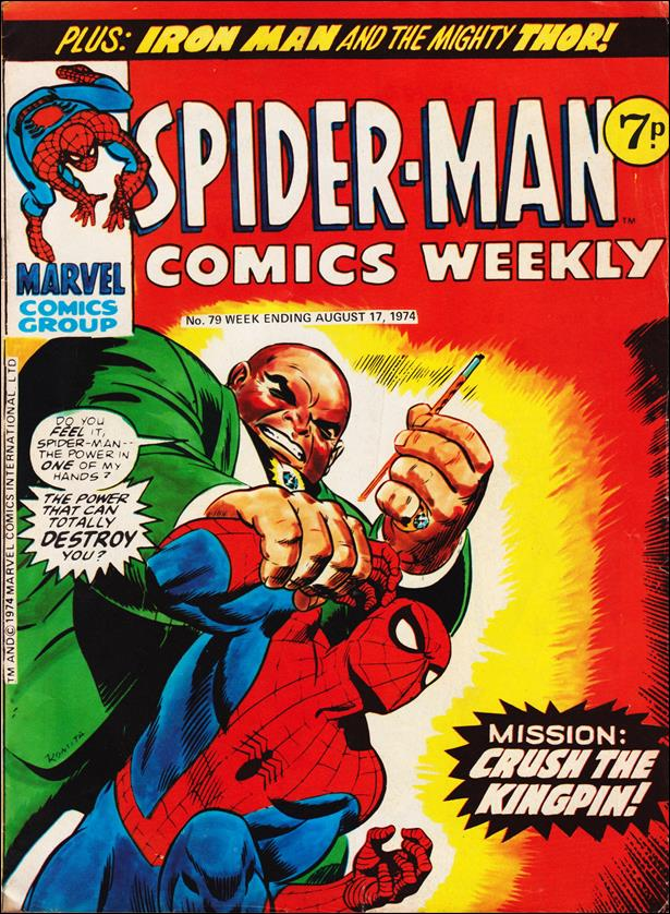 Spider-Man: Comics Weekly (UK) 79-A by Marvel UK