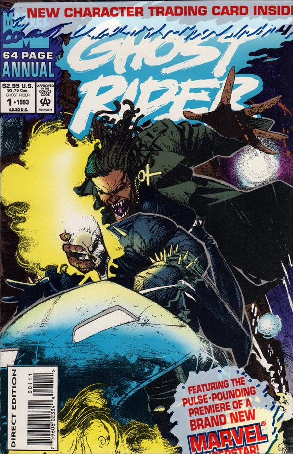 Ghost Rider Annual 1-A by Marvel