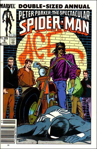 Spectacular Spider-Man Annual 5-A by Marvel