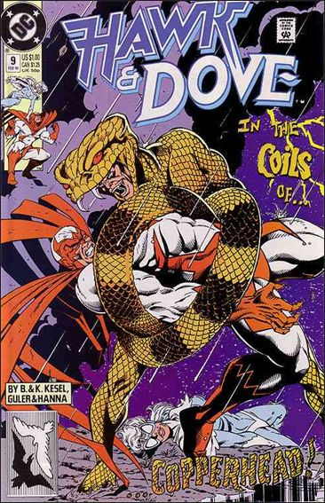 Hawk and Dove (1989) 9-A by DC