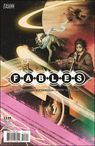 Fables 126-A by Vertigo
